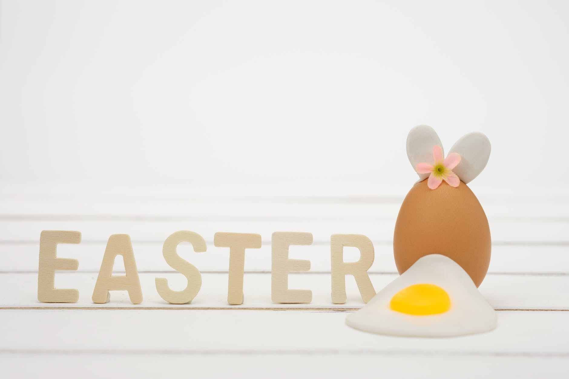 photo of easter decorations